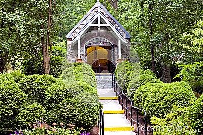 Chapelle en bois