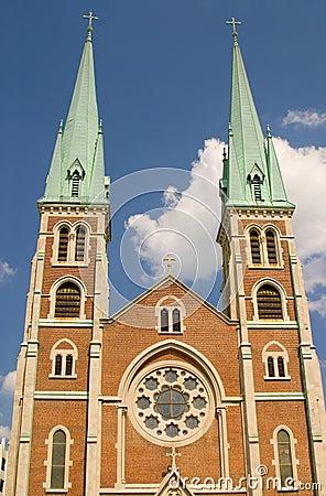 Chapiteles de la iglesia