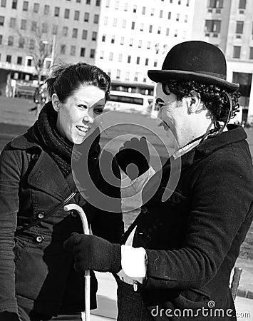 Chaplin Editorial Stock Image