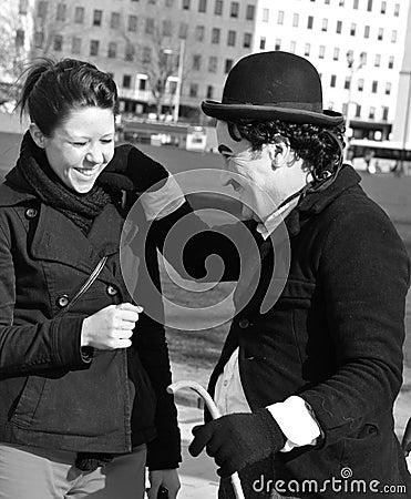 Chaplin Editorial Stock Photo