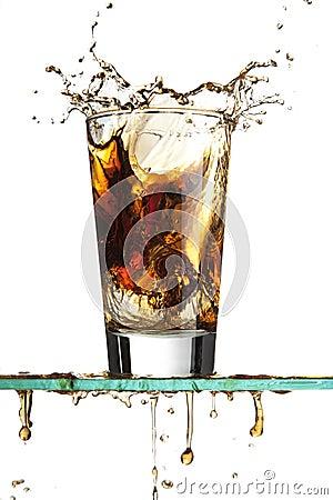 Chapoteo de la soda