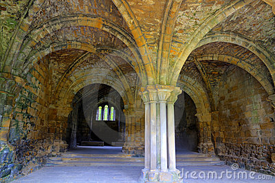 Chapter House of a Medieval Abbey