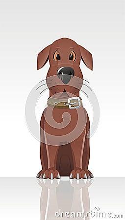 Character animal kind cartoon collar