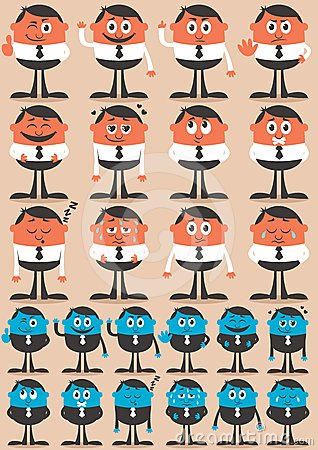 Free Character Emotions 2 Stock Images - 24310324