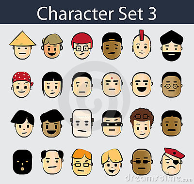 Character Icon Set 3
