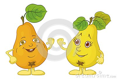 Character pears