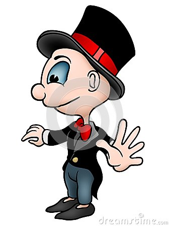 Character in Tuxedo