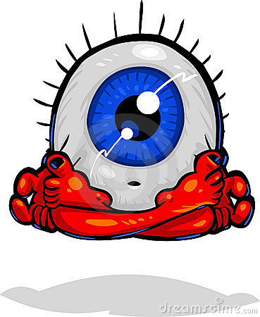 Character Types -Eyeball Meditating