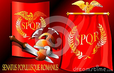 The characters of the Roman Empire. (Vector)