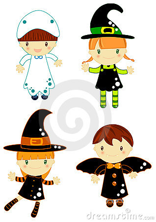 Charaktery Halloween