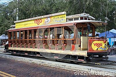 Chariot à Ybor Image éditorial
