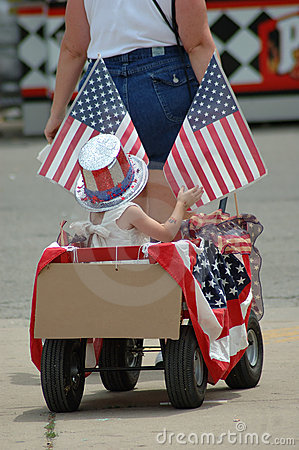 Chariot patriotique