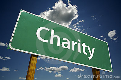 Charity- Road Sign.
