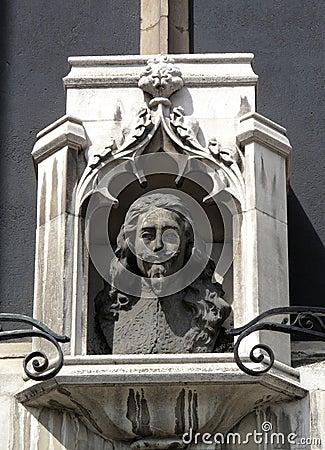Charles 1 Bust St Margaret's Church London
