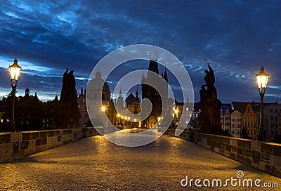 Charles Bridge em Praga