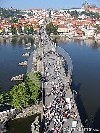 Free Charles Bridge In Prague. Stock Images - 3558804