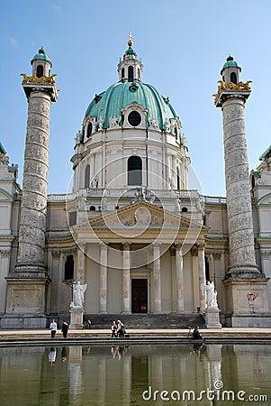 Charles church of Vienna