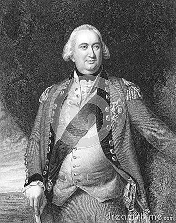 Charles Cornwallis Editorial Stock Photo