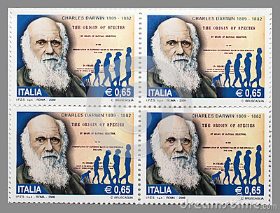 Charles Darwin Editorial Stock Photo