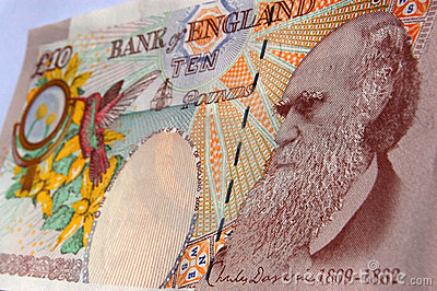 Charles Darwin banknote