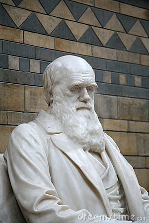 Free Charles Darwin Statue Royalty Free Stock Photo - 10308565