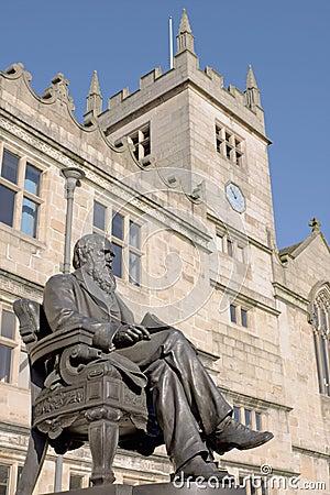 Charles Darwin Statue, England
