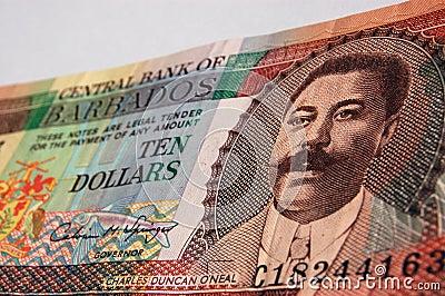 Charles Duncan O Neal Barbados banknote