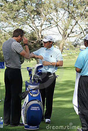 Charles Howell III 2011 Farmers Insurance Open Editorial Stock Photo
