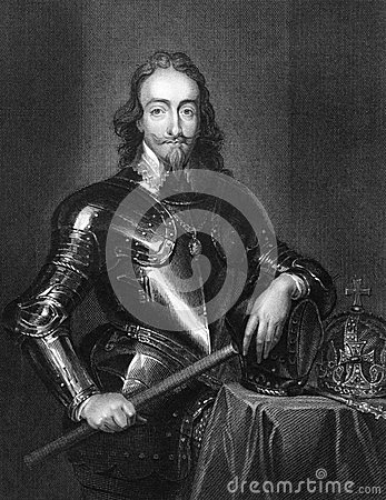 Charles I of England Editorial Photo