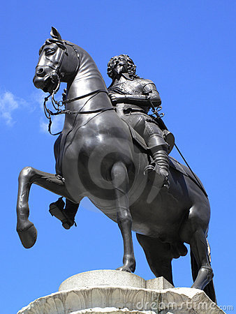 Charles I equestrian statue
