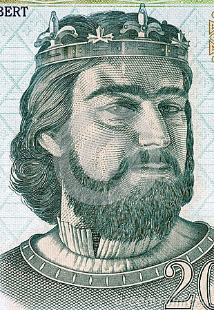 Charles I of Hungary Editorial Image