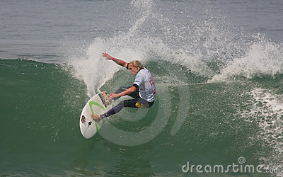 Charles Martin (GLP) in ASP World Qualifier Editorial Stock Photo