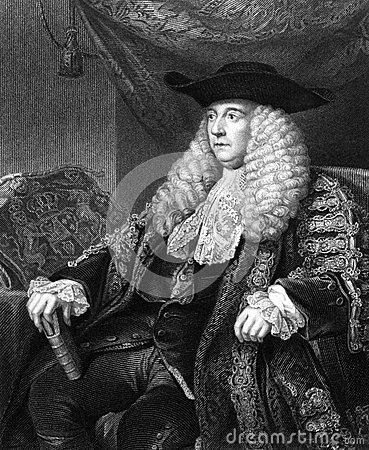 Charles Pratt, 1st Earl Camden Editorial Image