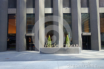 Charles Schwab Corporation Editorial Photo