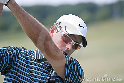 Charles Schwartzel (AFS) Golf French Open 2009 Editorial Stock Photo