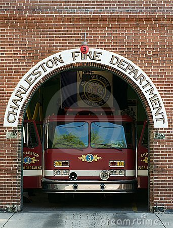 Charleston Fire Department Editorial Photography