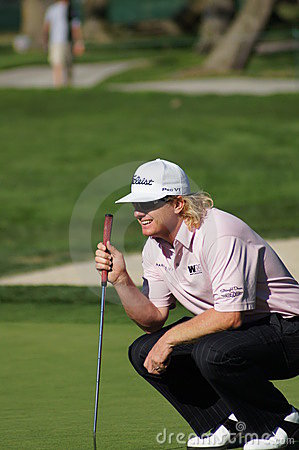 Charley Hoffman 2012 Farmers Insurance Open Editorial Stock Image