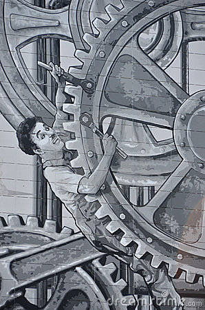 Charlie Chaplin Editorial Image