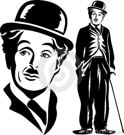 Charlie Chaplin/eps Editorial Stock Image