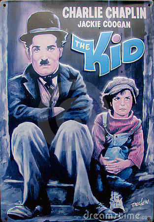 Free Charlie Chaplin - The Kid Royalty Free Stock Photography - 15687117