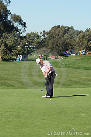 Charlie Hoffman 2012 Farmers Insurance Open Editorial Photo