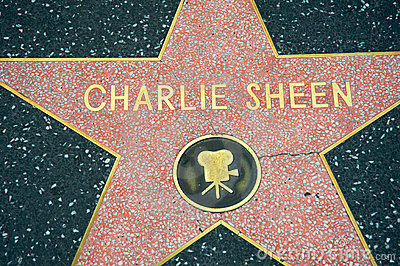 Charlie Sheen Editorial Image