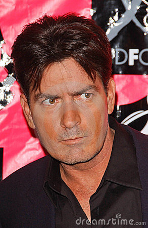 Charlie Sheen Editorial Stock Image