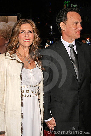 Charlie Wilson, Rita Wilson, Tom Hanks Editorial Stock Photo