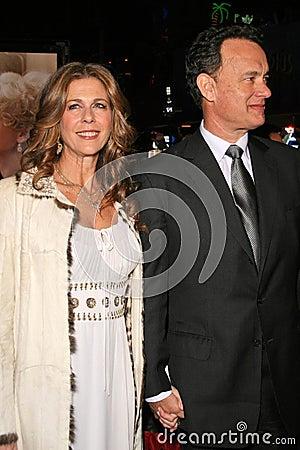 Charlie Wilson, Rita Wilson, Tom Hanks Editorial Stock Photo