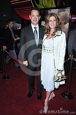 Charlie Wilson,Rita Wilson,Tom Hanks Editorial Stock Photo