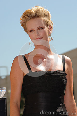 Charlize Theron Editorial Stock Image