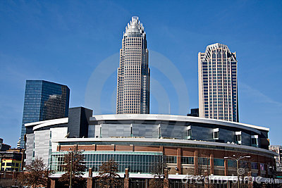 Charlotte Bobcats Arena in Charlotte