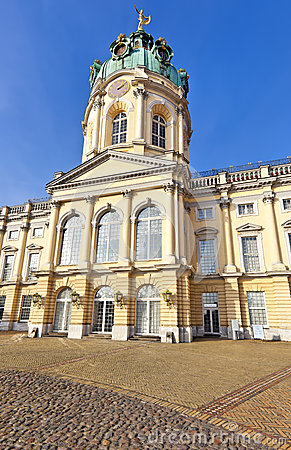 Charlottenburg Palace, famous tourist destination in Berlin