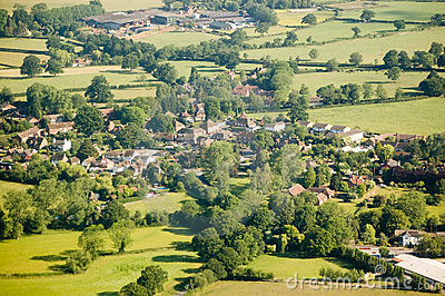 Charlwood Village, Surrey Stock Images - Image: 19911264